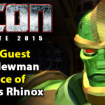 Richard Newman the voice of Rhinox to attend TFcon Charlotte 2015