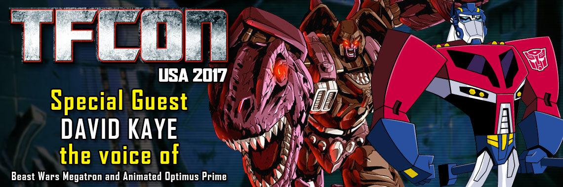 David Kaye the voice of Beast Wars Megatron at TFcon DC 2017