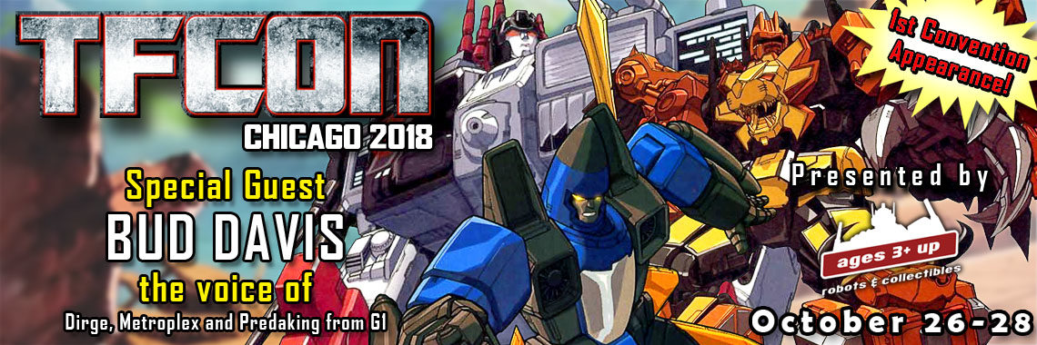 Generation 1 voice actor Bud Davis to attend TFcon Chicago 2018