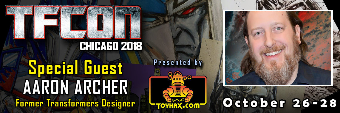 Transformers Designer Aaron Archer to attend TFcon Chicago 2018