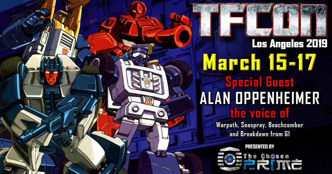 Transformers voice actor Alan Oppenheimer joins the G1 Reunion at TFcon Los Angeles 2019