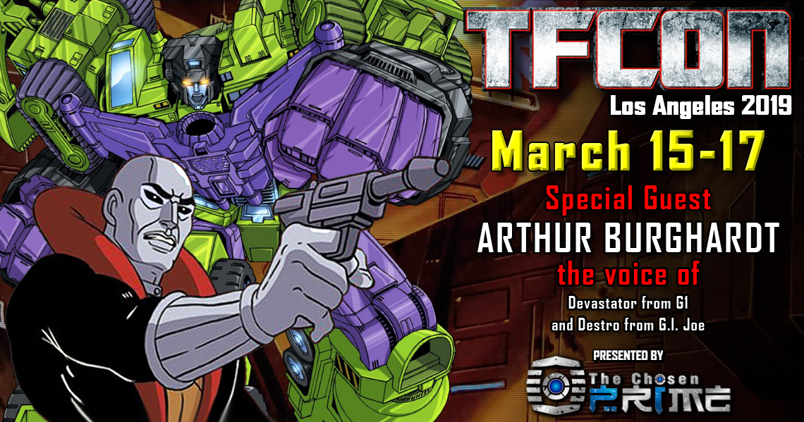 Transformers voice actor Arthur Burghardt joins the G1 Reunion at TFcon Los Angeles 2019