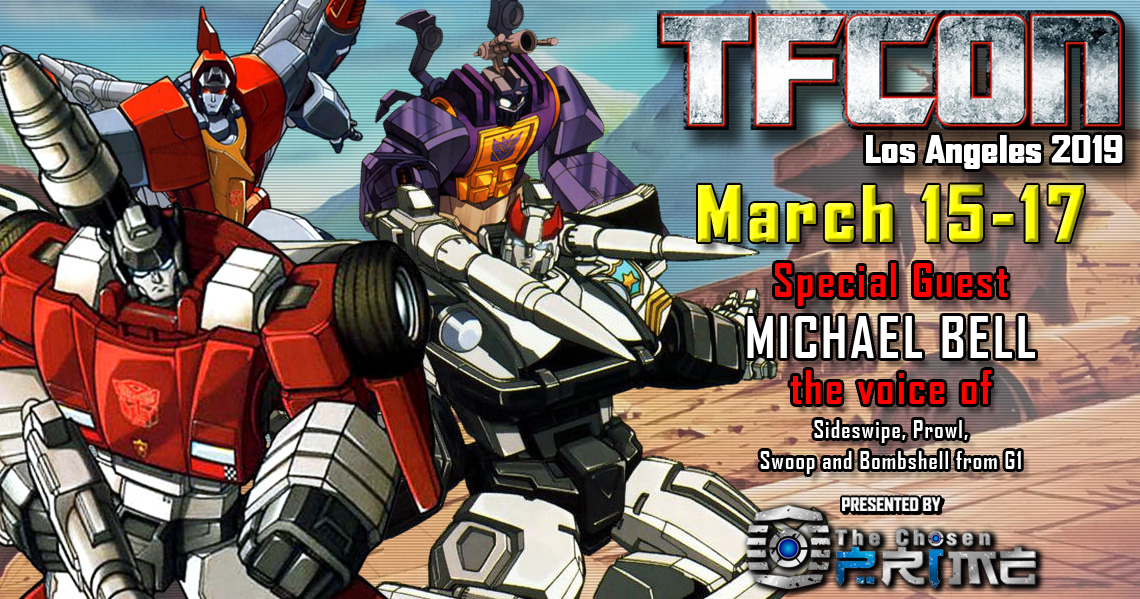 Transformers voice actor Michael Bell joins the G1 Reunion at TFcon Los Angeles 2019