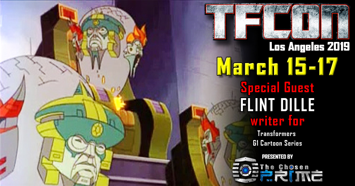 Transformers writer Flint Dille joins the G1 Reunion at TFcon Los Angeles 2019
