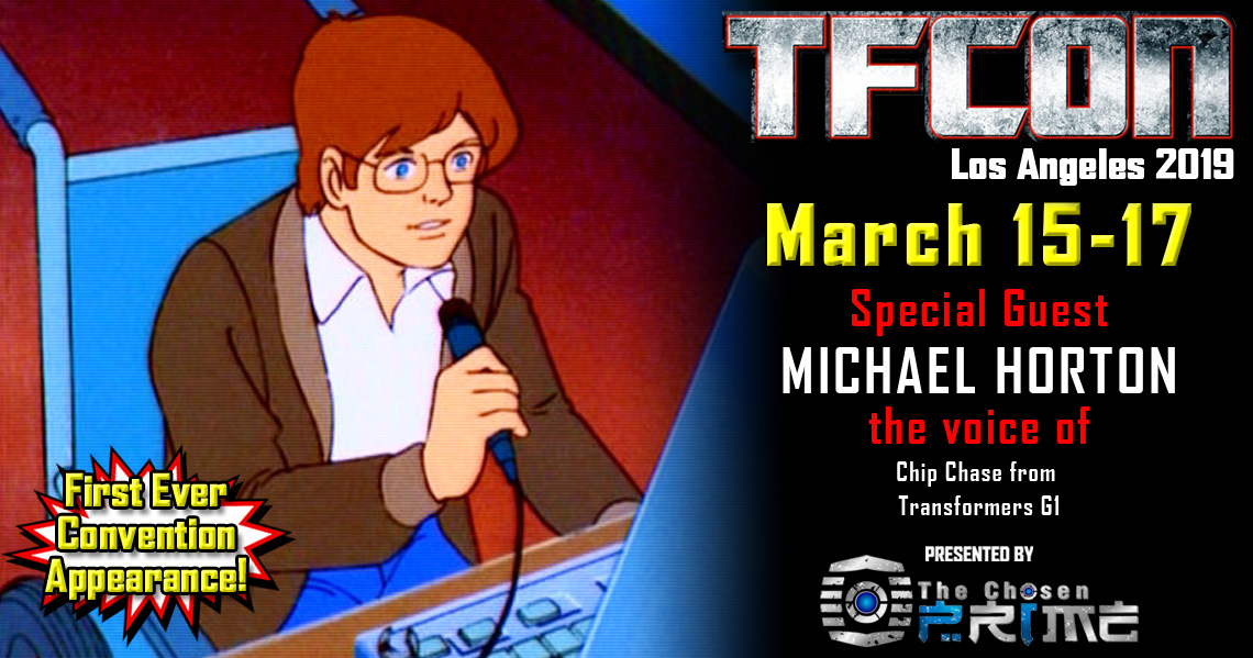 Transformers voice actor Michael Horton joins the G1 Reunion at TFcon Los Angeles 2019