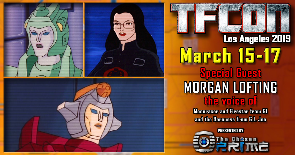 Transformers voice actor Morgan Lofting joins the G1 Reunion at TFcon Los Angeles 2019