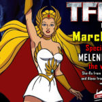 Transformers voice actor Melendy Britt joins the G1 Reunion at TFcon Los Angeles 2019