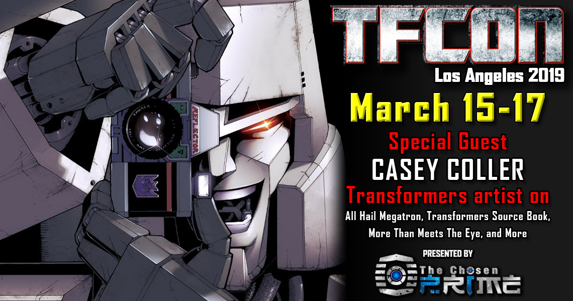 Transformers Artist Casey Coller to attend TFcon Los Angeles 2019