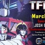 Transformers Artist Josh Burcham to attend TFcon Los Angeles 2019
