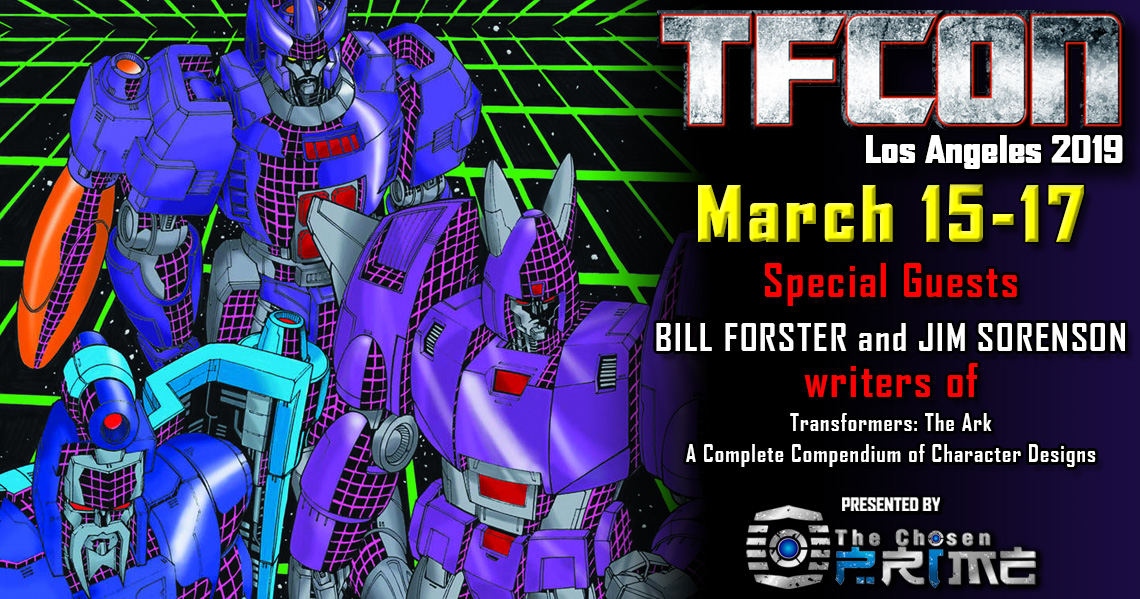 Writers Bill Forster and Jim Sorenson to attend TFcon Los Angeles 2019