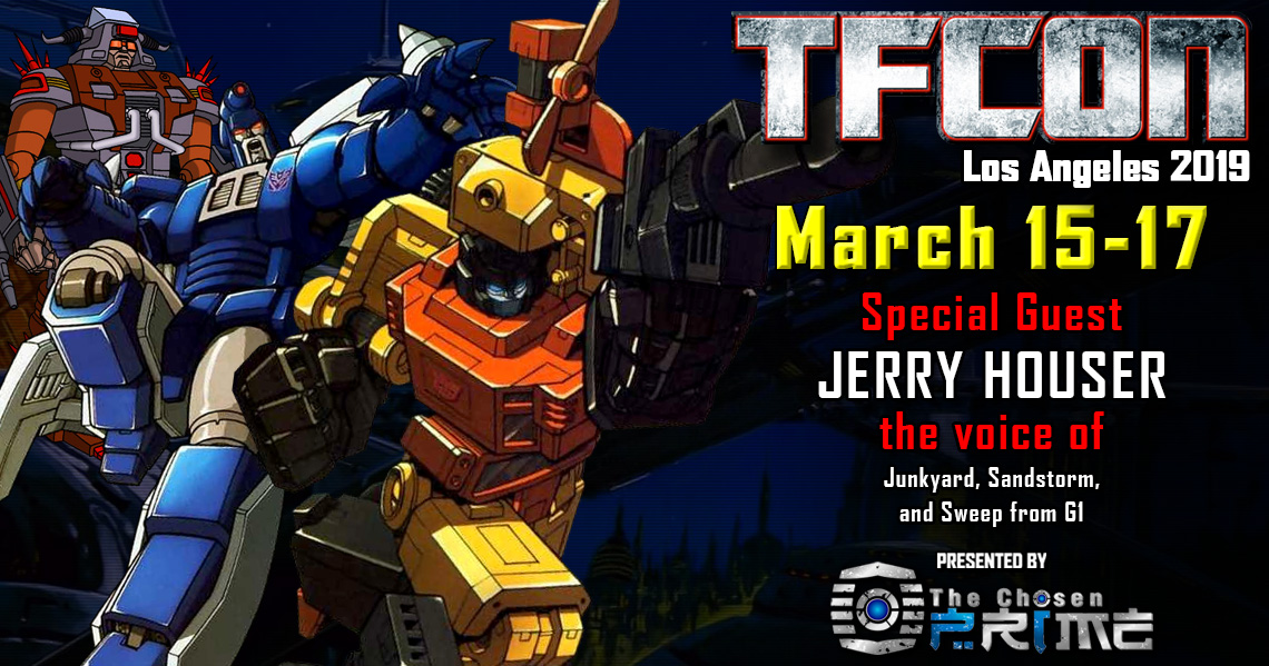 Transformers voice actor Jerry Houser joins the G1 Reunion at TFcon Los Angeles 2019