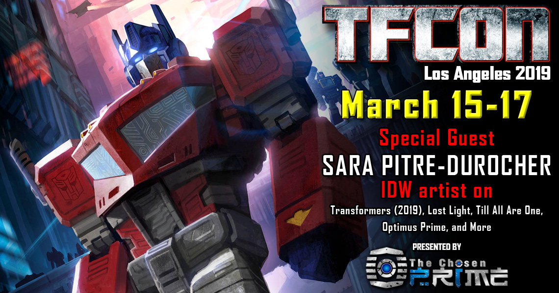 Transformers Artist Sara Pitre-Durocher to attend TFcon Los Angeles 2019