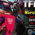 Transformers voice actor David Kaye to attend TFcon Los Angeles 2019