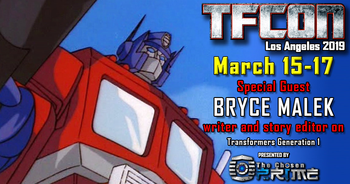 Transformers writer Bryce Malek joins the G1 Reunion at TFcon Los Angeles 2019