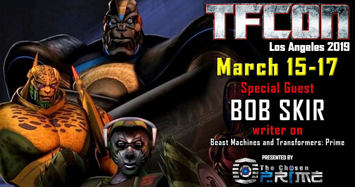 Transformers Beast Machines story editor Bob Skir to attend TFcon Los Angeles 2019