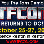 Tickets Now On Sale for TFcon DC 2019