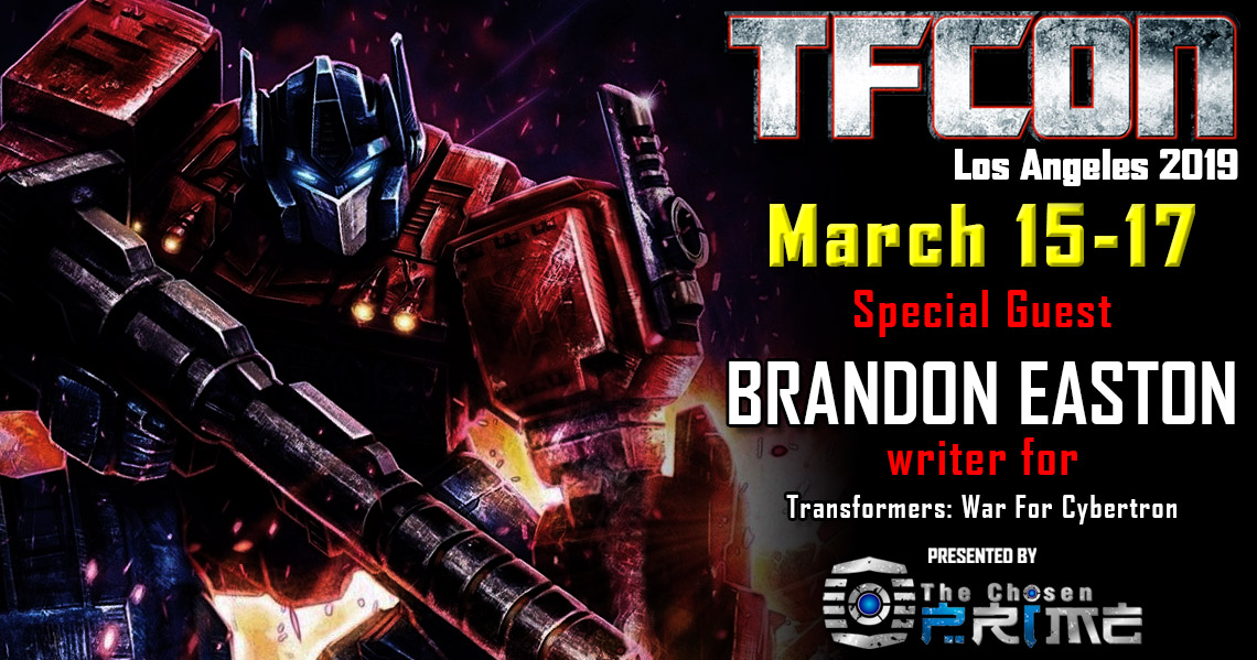 Transformers War for Cybertron writer Brandon Easton to