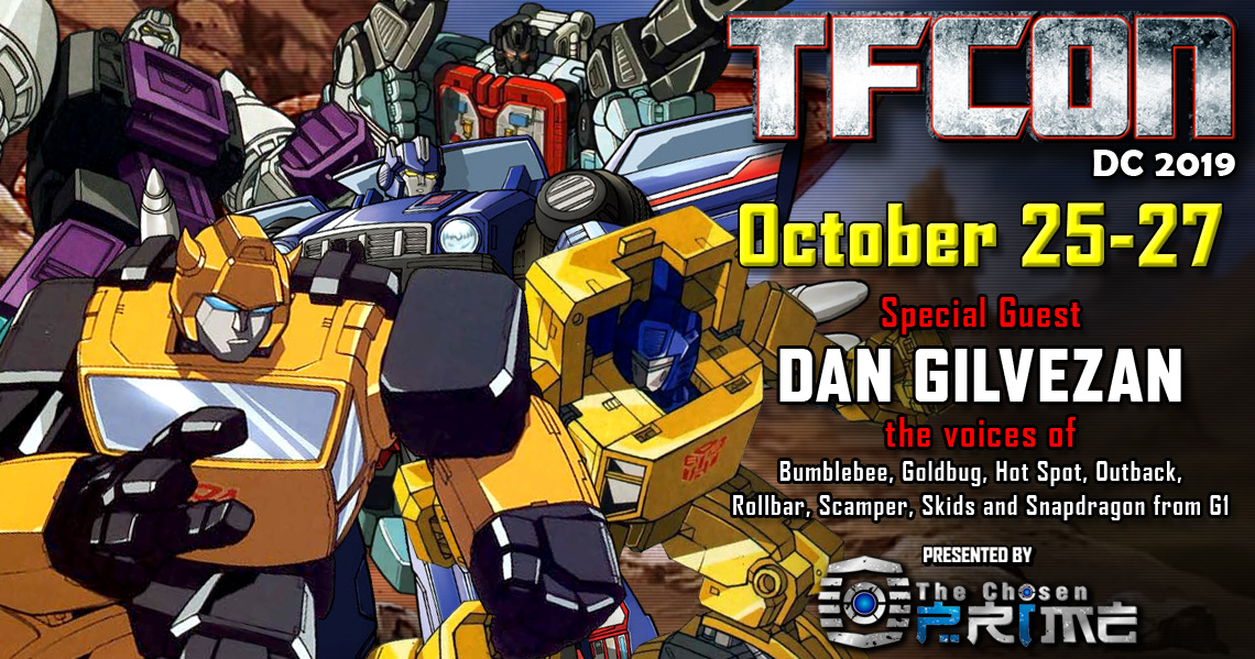 Transformers voice actor Dan Gilvezan to attend TFcon DC 2019