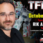 Transformers Creative Manager Rik Alvarez to attend TFcon DC 2019