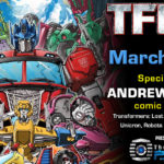 Transformers Artist Andrew Griffith to attend TFcon Orlando 2020