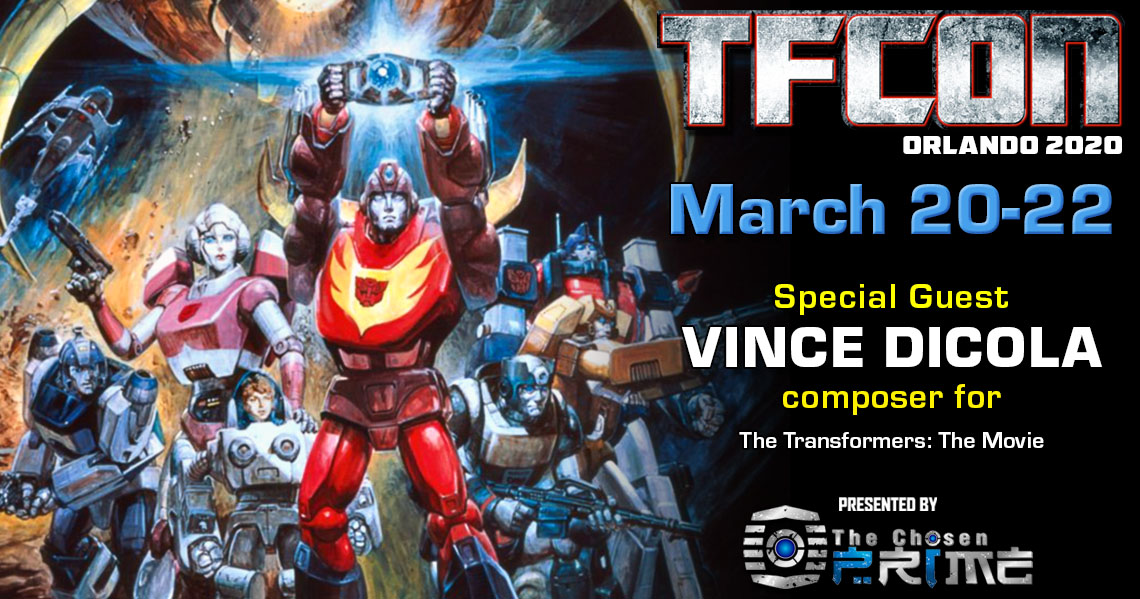 Transformers The Movie composer Vince Dicola to attend TFcon Orlando 2020