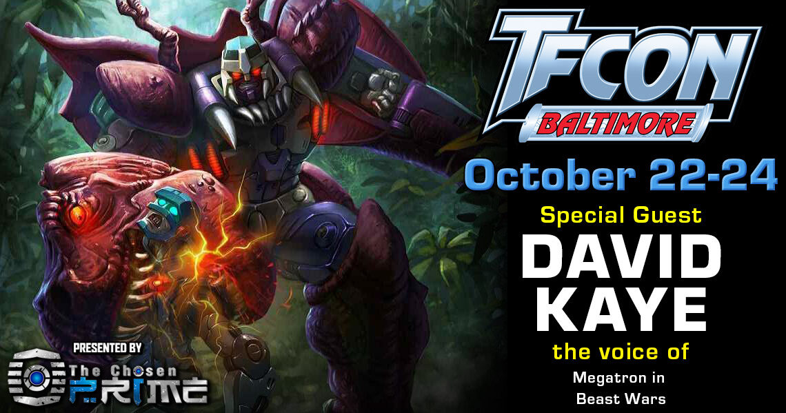 Transformers Voice Actor David Kaye to attend TFcon Baltimore 2021