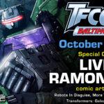 Transformers Artist Livio Ramondelli to attend TFcon Baltimore 2021