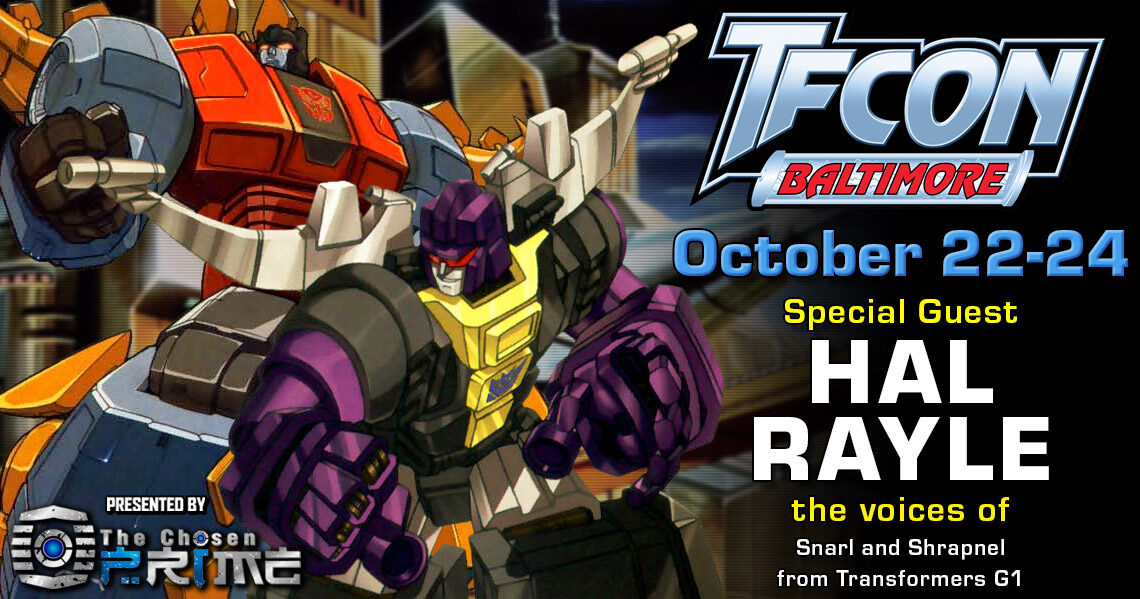 Transformers Voice Actor Hal Rayle to attend TFcon Baltimore 2021