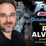 Transformers Creative Manager Rik Alvarez to attend TFcon Baltimore 2021