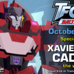 Transformers Voice Actor Xavier Paul Cadeau to attend TFcon Baltimore 2021